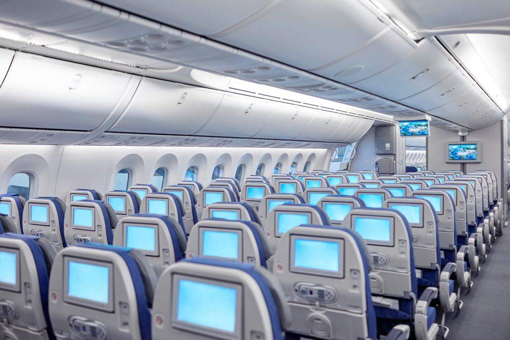機内のイメージ