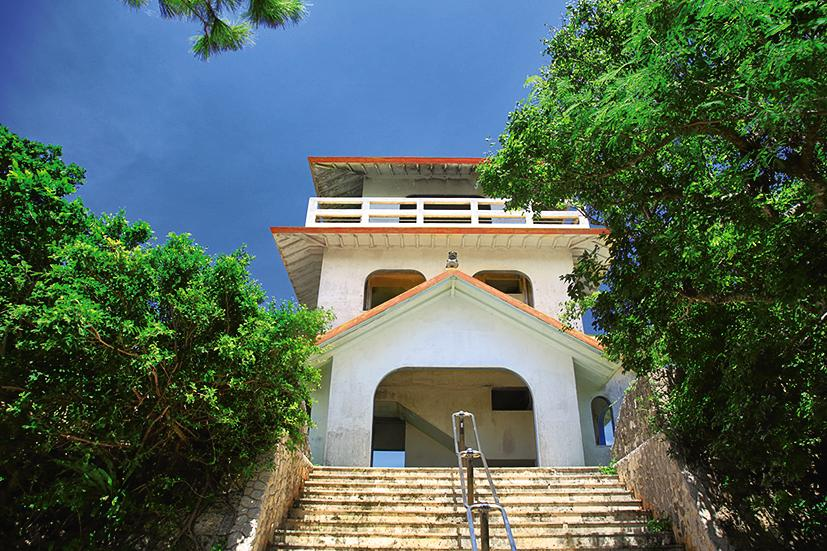 宮古島の竜宮城展望台