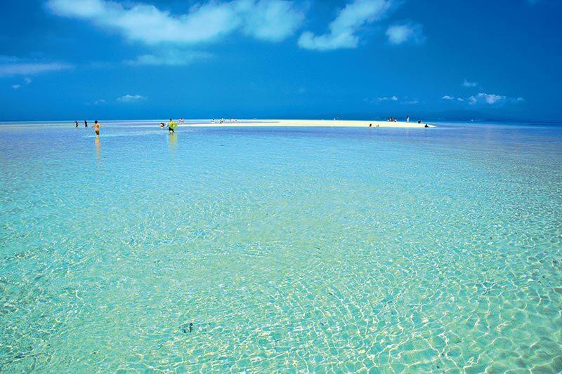 竹富島のコンドイ浜