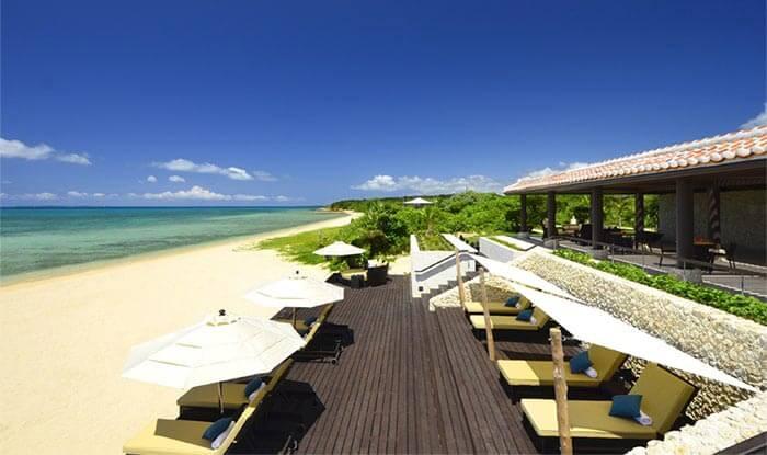 小浜島のはいむるぶしビーチ